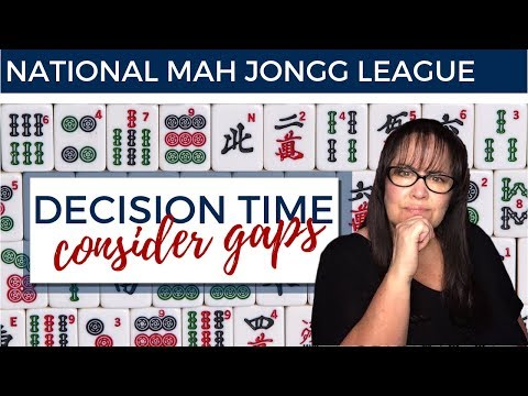 National Mah Jongg League Solitaire 20190401 (2019 card)