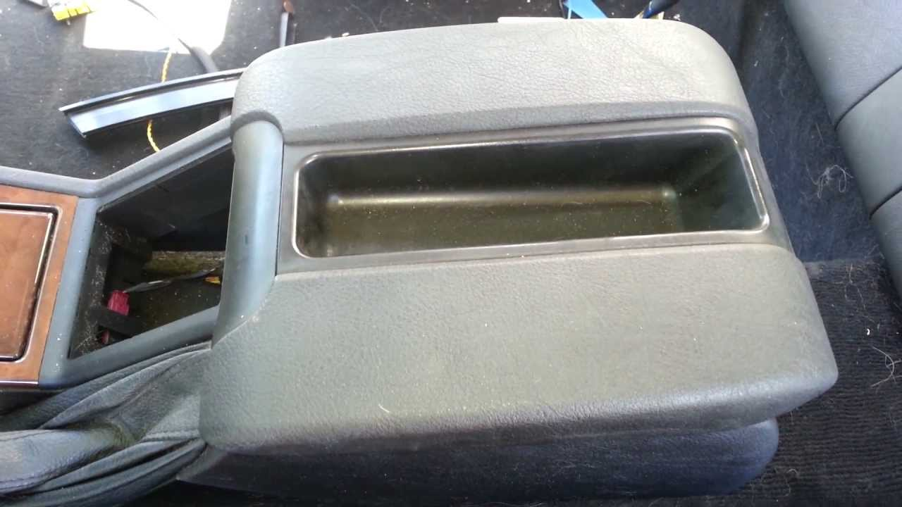 Bmw E39 M5 Center Console Arm Rest Removal E39 540i 530i