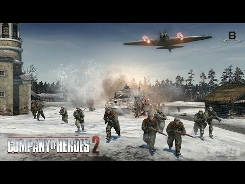 A Surprise To Be Sure - Company Of Heroes 2 Theater of War Co-op Mission #1