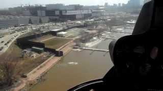 Полёт на вертолёте Robinson R44  - First flight in the R44, Moscow.(Мой первый полёт на вертолёте. Видео подрезал, снимал на простую мыльницу для друзей, особо не задумываясь..., 2013-04-20T00:08:24.000Z)