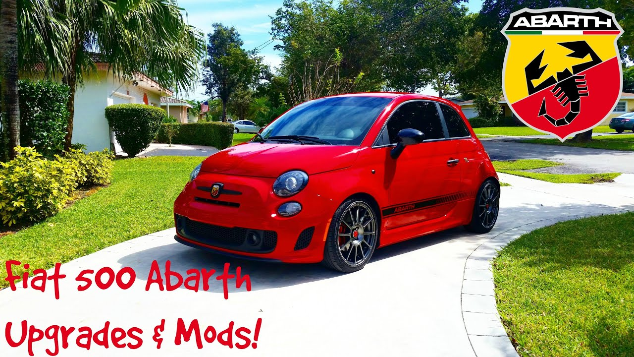 2013 fiat 500 abarth upgrades mods doovi. Black Bedroom Furniture Sets. Home Design Ideas