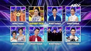 VOTE NOW for the First 8 Semi-Finalists - VOTING CLOSED | Asia's Got Talent 2017