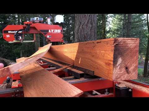 Lap siding jig for the Wood-Mizer LT35