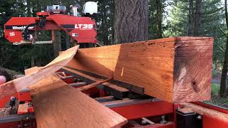 Lap siding jig for the Wood-Mizer LT35