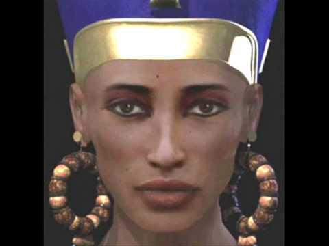 Egyptian mummy reconstructions - YouTube