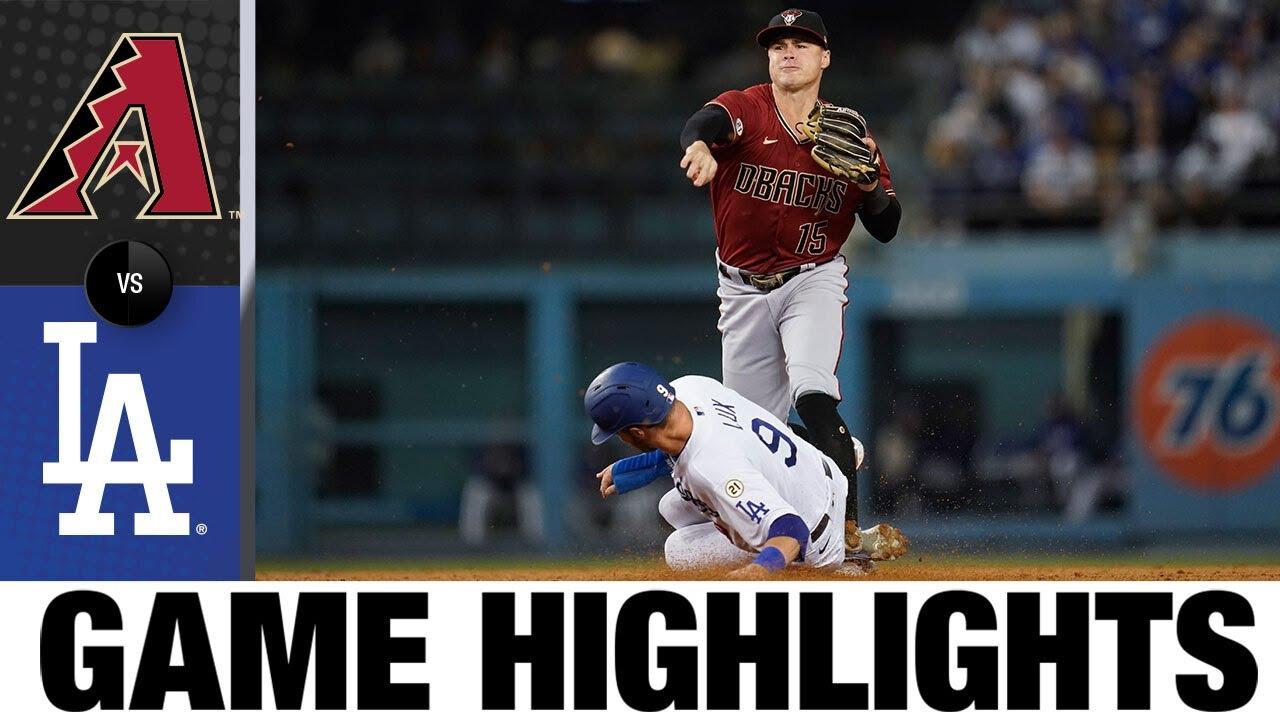 Download Diamondbacks vs. Dodgers Game Highlights (9/15/21) | MLB  Highlights