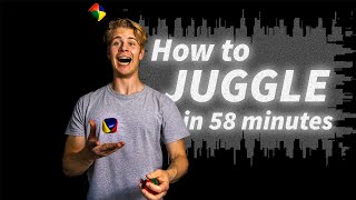 I learned to juggle in 1 HOUR!!