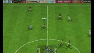 PES6 Fantastic goal - level champion