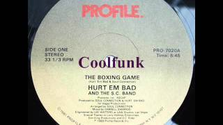 "Hurt 'Em Bad And The SC Band - The Boxing Game (12"" Rap/Funk 1983)"