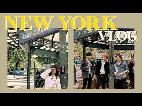 [ENG CC] เที่ยวนิวยอร์ก + ตามรอย NCT เบาๆ กรุบๆ   jaysbabyfood