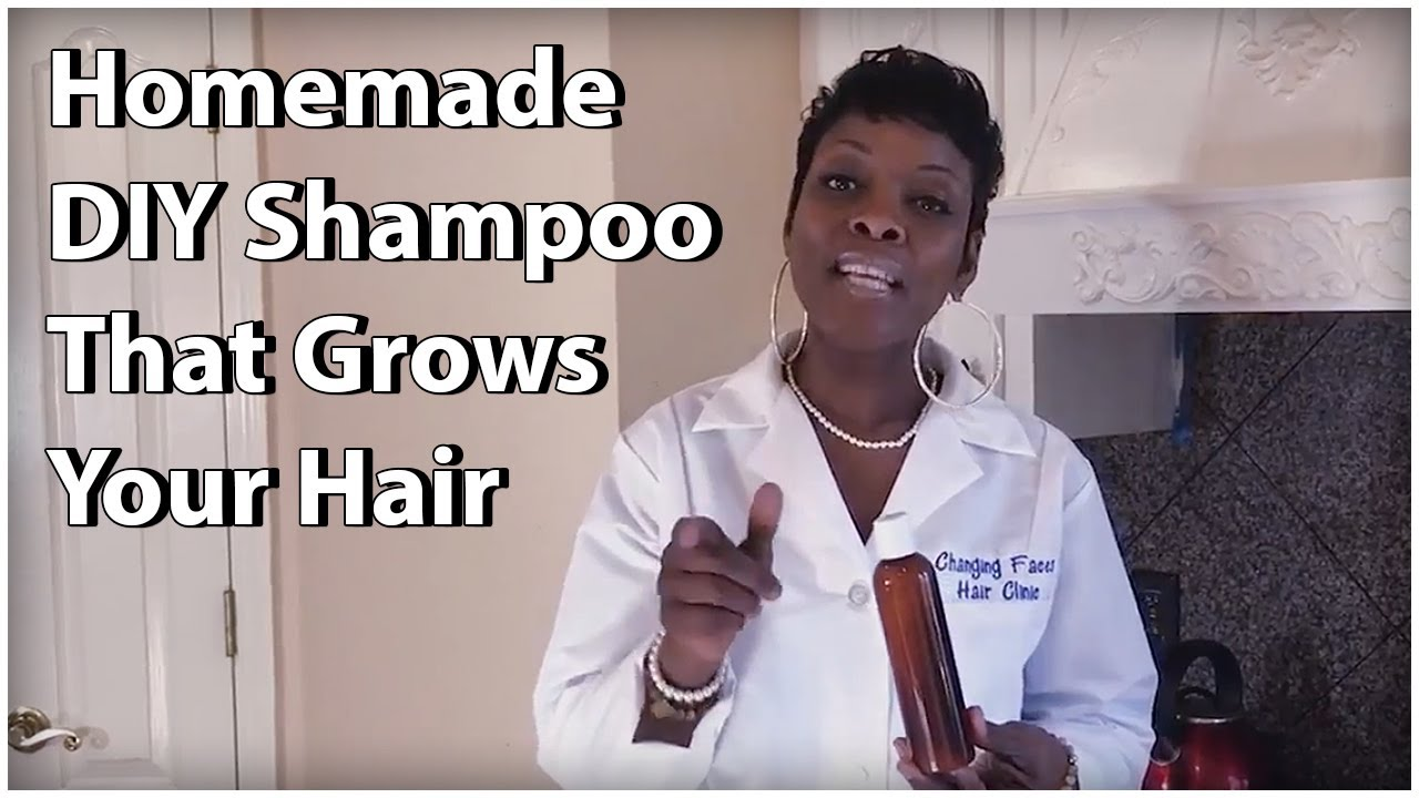 DIY Shampoo - How To Make A Shampoo That Will Make Your Hair Grow (fast)
