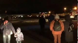 Сухой Суперджет выехал за полосу после посадки в Якутске