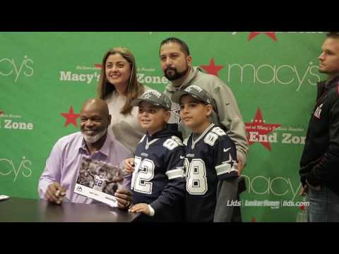 Emmitt Smith Signing Event at Locker Room by Lids at Macy's | LIDS