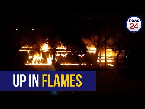 WATCH   Iconic Cape Town Pub, Fireman's Arms, Engulfed In Flames
