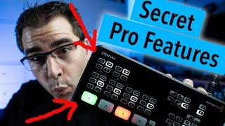 How to unlock the secret PRO FEATURES on the Blackmagic ATEM Mini