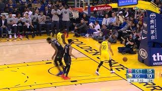 1st Quarter, One Box Video: Golden State Warriors vs. Detroit Pistons