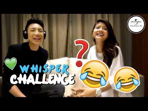 Whisper Challenge with Darren Espanto & Nik Qistina