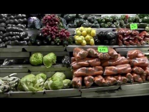 Fresh Produce Market, Eateries In Quito, Ecuador