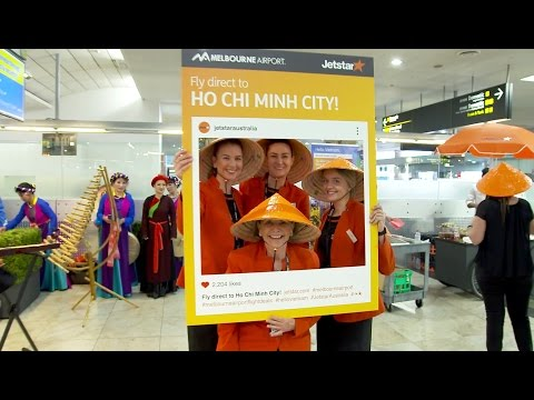 Melbourne to Ho Chi Minh City route launch
