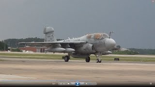 Marine Corps EA-6B Prowler Demo- 2014 MCAS Cherry Point Airshow