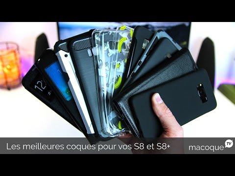 LES MEILLEURES COQUES POUR SON SAMSUNG GALAXY S8/S8+