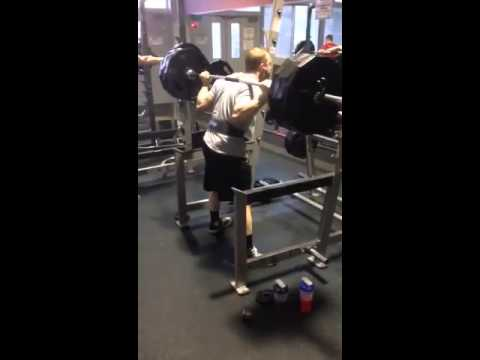 405 pound squat