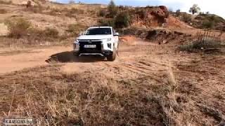 Test Drive Mitsubishi L200 in BG