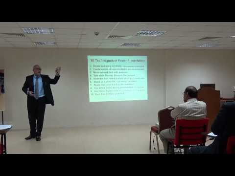 "Syed Noor ""Power Presentation Techniques"" given to Toastmasters Muscat-Oman Sep-2014"