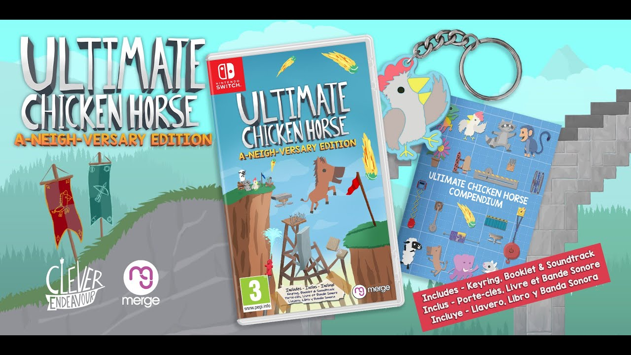 """Ultimate Chicken Horse """"A-Neigh-Versary"""" Edition. - YouTube"""
