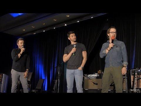 Montreal Matt Cohen, Rob Benedict and Richard Speight Jr. FULL Panel 2018 Supernatural