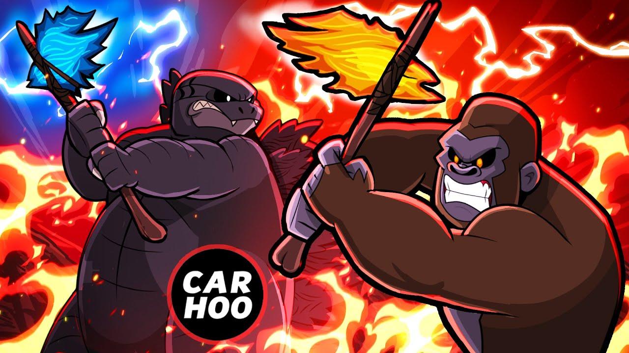 GODZILLA vs KONG - AXE FIGHT !!!