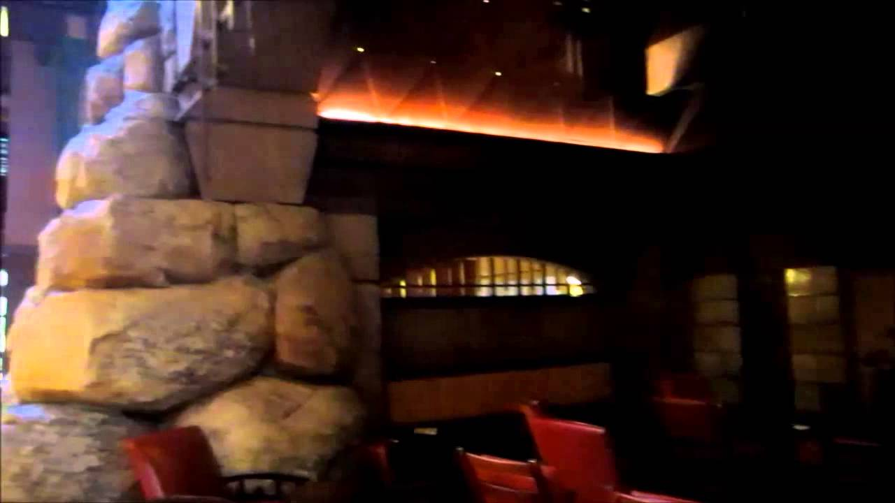 disneyland grand californian hotel lobby fireplace and main