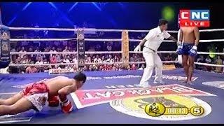 Yuk Yeakple vs Singdam(thai), Khmer Boxing CNC 08 April 2018, Kun Khmer vs Muay Thai