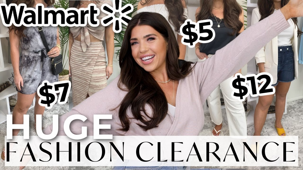 HUGE WALMART FASHION CLEARANCE | MAJOR DISCOUNTS!! | You Don't Want To Miss This! *IN STOCK*