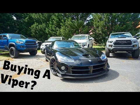 2006 Dodge Viper: Start UP, Exhaust, Test Drive and Review
