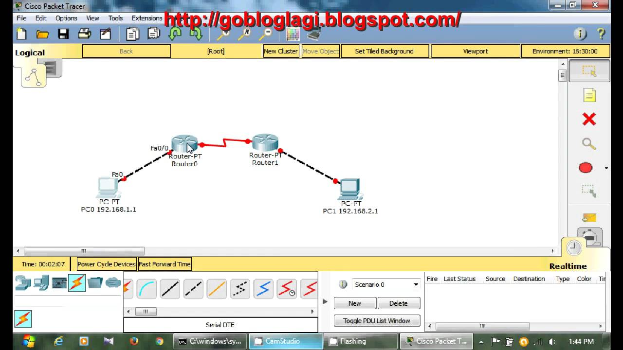 How to connect router to router in packet tracer