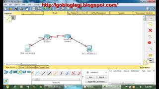 Cisco Packet Tracer Tutorial - Connecting  2 router
