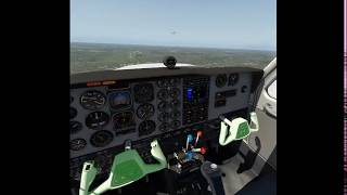 Engine failure in VR - Baron 58 engine-out drill with X-Plane and Oculus Rift