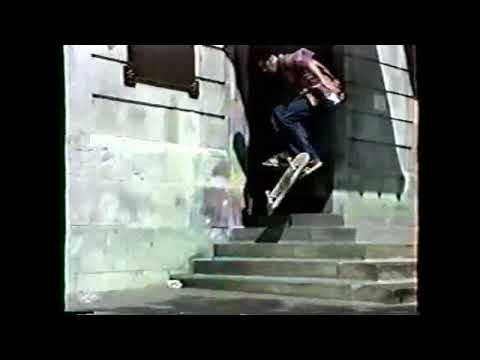 (1994) SKATEBOARD MONTREAL city hall part 3