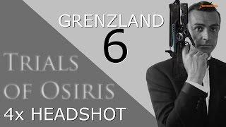 Trials of Osiris - Martinilos mit Revolverheld und Hartes Licht auf Grenzland #6 4x HEADSHOT