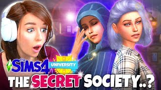 Joining the SECRET SOCIETY!? (The Sims 4 DISCOVER UNIVERSITY! 👩🏼‍🎓 #3)