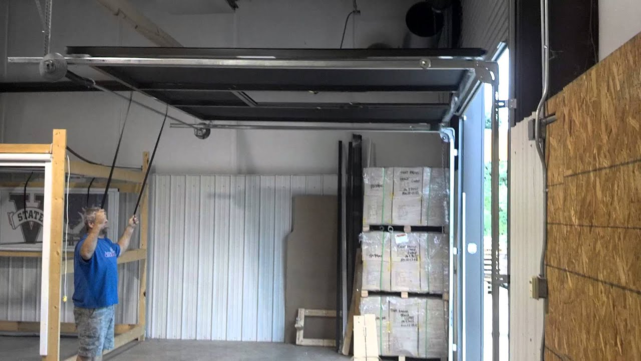 New Product Dev 9H and 10H Lifestyle Screens garage door screen 2  YouTube