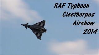 RAF Typhoon Cleethorpes Airshow 2014