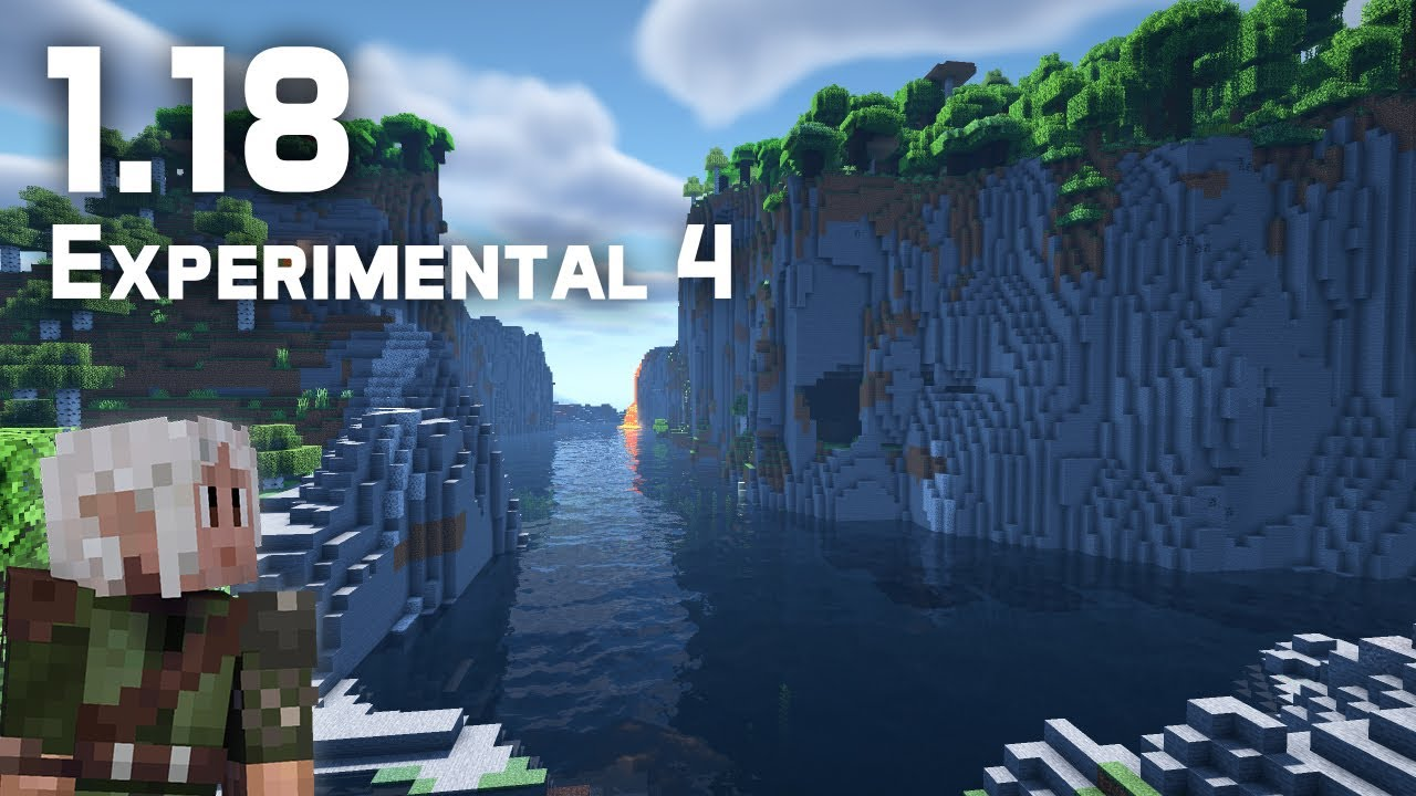 What's New in Minecraft 1.18 Experimental Snapshot 4?