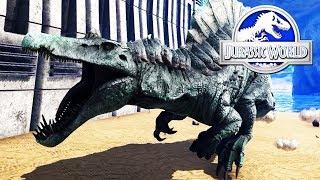 HIPO ESPINOSAURUS NUEVO DINOSAURIO MEJORADO MAS CHETADO DE JURASSIC WORLD 2 Ark ABlistering