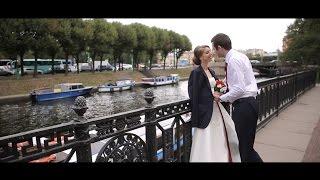Самая нежная и романтическая свадьба Тимура и Александры в Санкт-Петербурге