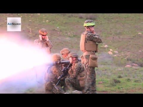 U.S. Marines 1/4 Conducts Training Exchange With JGSDF