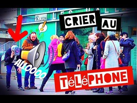 CRIER AU TÉLÉPHONE EN PUBLIC (ALLO #2) - L'insolent