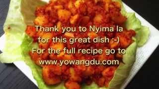 Shogo Khatsa: How to Make Tibetan Spicy Potatoes