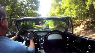 64 Corvette Stingray Backroads Hard Run